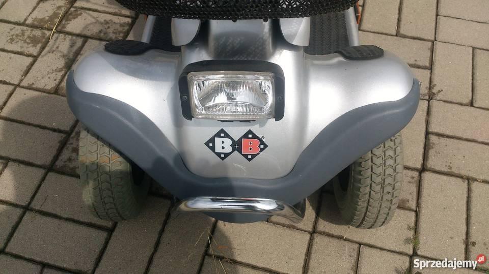 Wózek skuter inwalidzki w stanie BB czterokołowy Zdrowie i Uroda dolnośląskie Syców