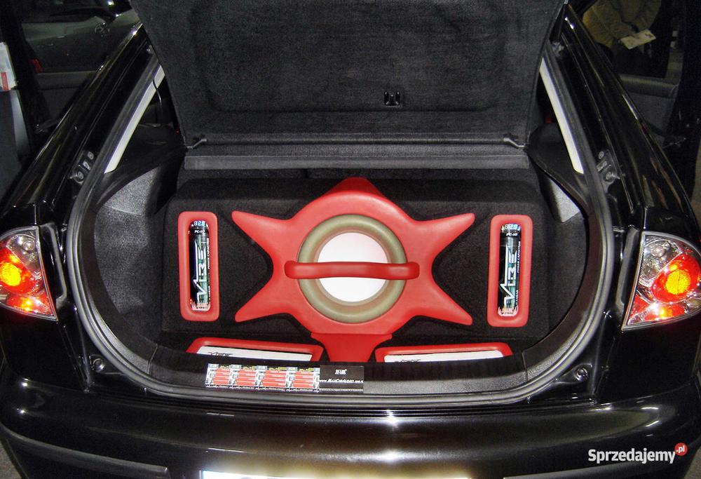 Topnotch ZABUDOWA CAR AUDIO SEAT LEON PLEXI LED SKÓRA NATURALNA SP77