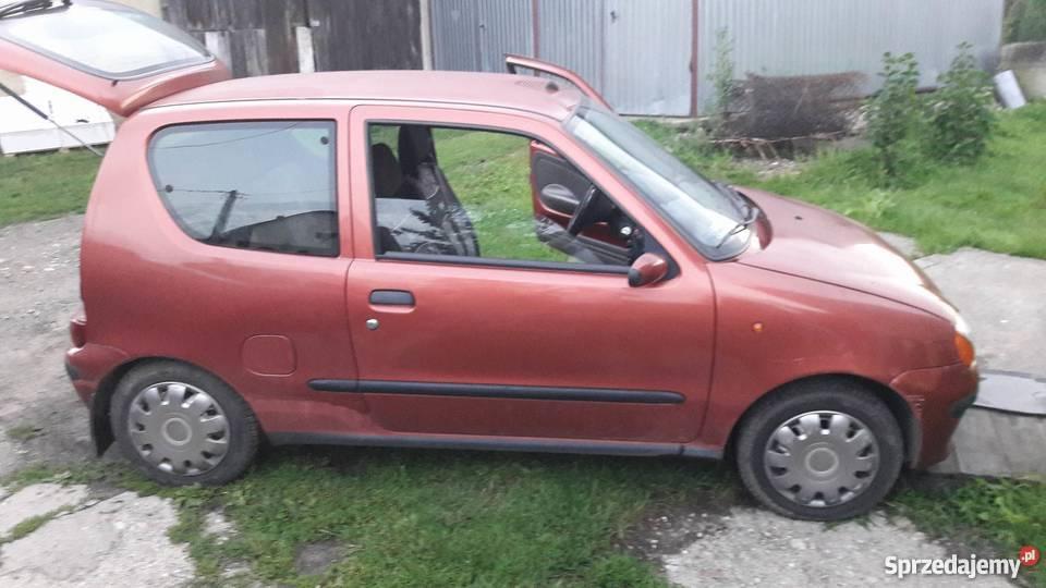 Fiat Seicento 900 benzynagaz hak Seicento sprzedam