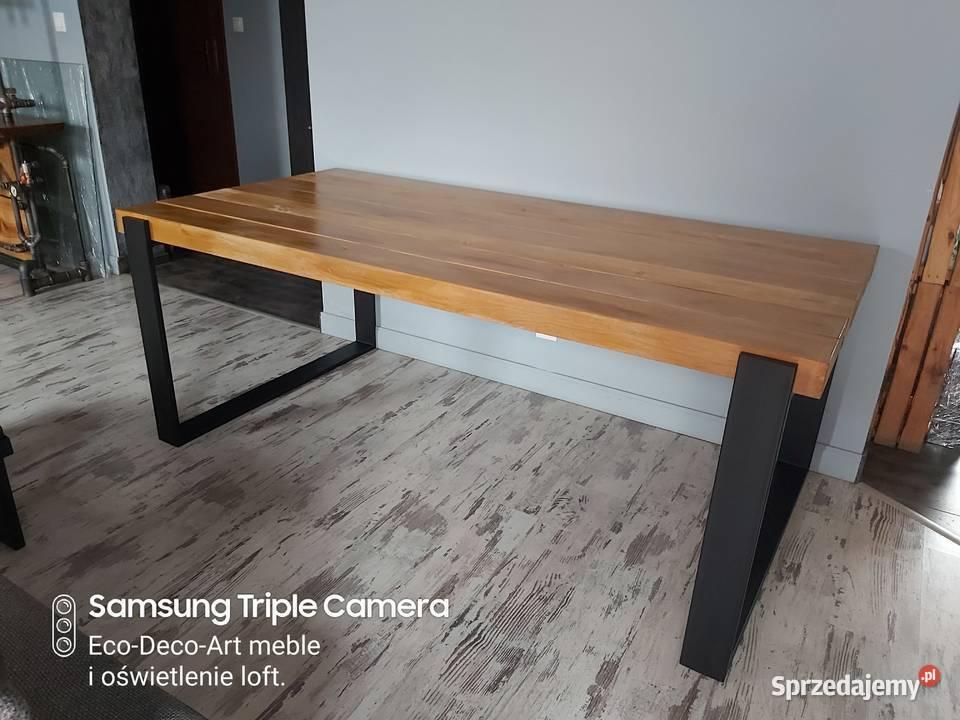 Stół Industrialny Loftowy. Metalowo drewniany | Producent XF