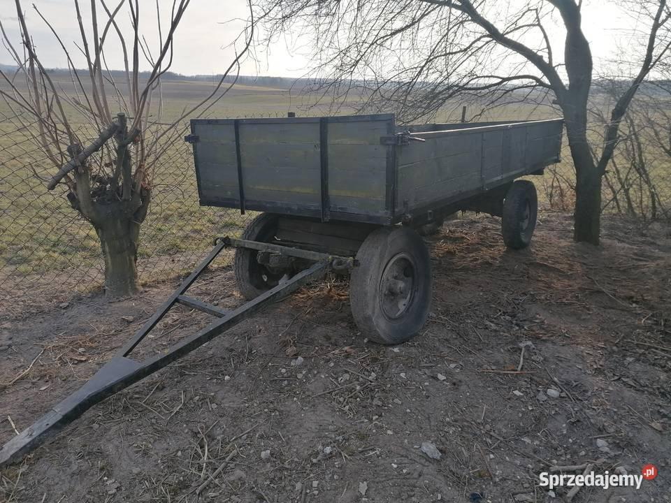 Przyczepka rolnicza