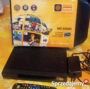 Dekoder cyfrowego polsatu hd 5000 webcam