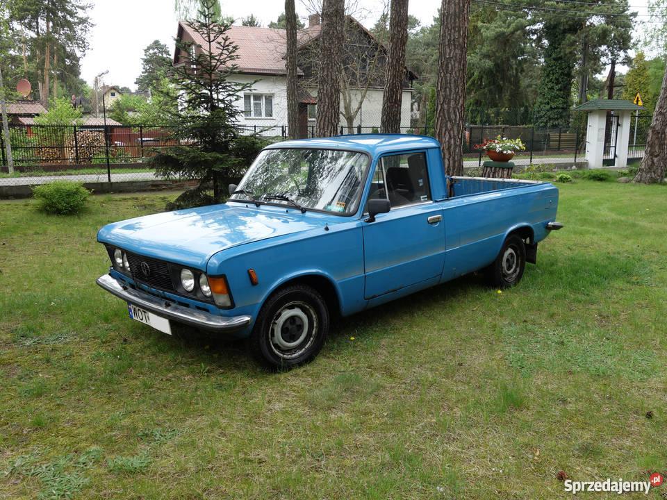 Dodatkowe Unikalny Fiat 125p Pickup / zabytek Józefów - Sprzedajemy.pl GS83