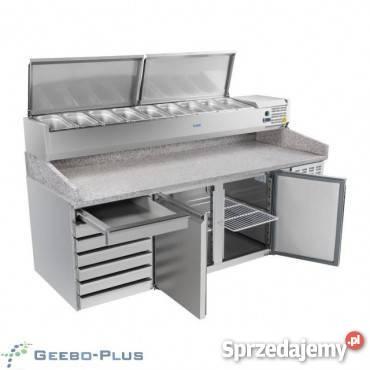 Bardzo dobra Stół chłodniczy do pizzy 200 cm Nowy Gwarancja FV Wrzosowa OW75