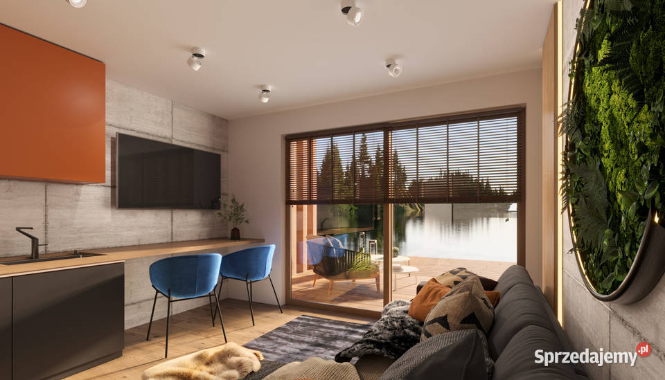 Dom typu Marina dom modułowy kontener mieszkalny ciepły
