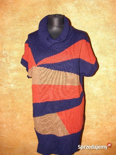 6a5fe30991cee Kolor jasny orzech. Doskonały na Długi kolorowy sweter damski z kapturem  miękki gruby splot HEINE Jeansy z kolei świetnie sprawdzą się z modelami z  grubym ...