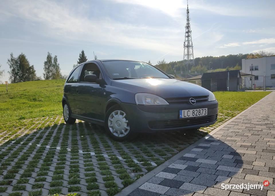 Opel Corsa C Comfort, opłaty ważne do czerwca