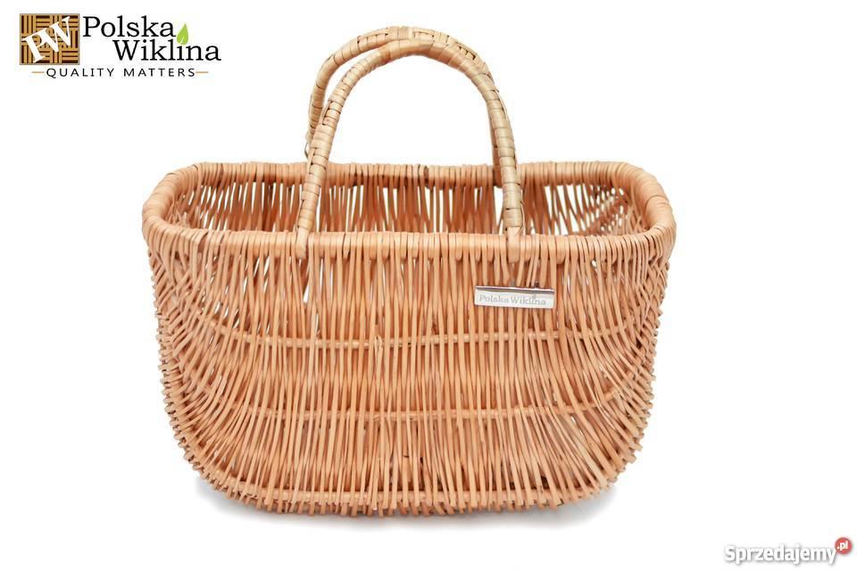 688b3702ced5b9 koszyk wiklinowy na zakupy - Sprzedajemy.pl