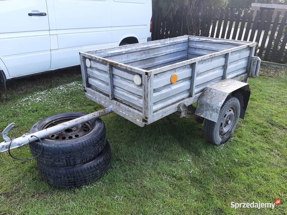 Przyczepka samochodowa lekka SAM Mocna! 750kg