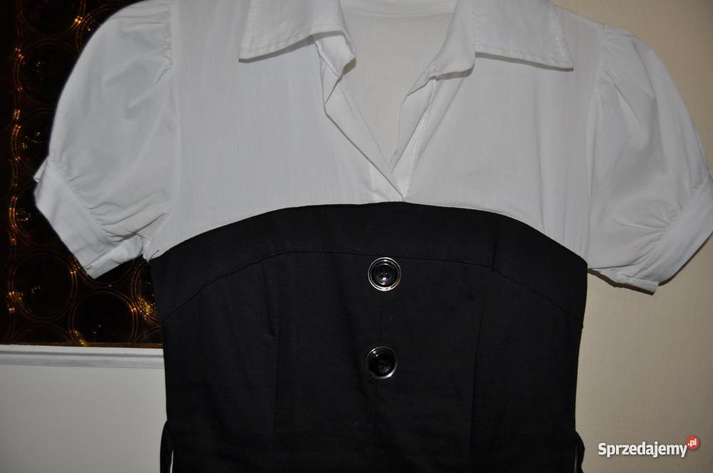 Sukienka biało Rozmiar 36(S) Gdańsk sprzedam