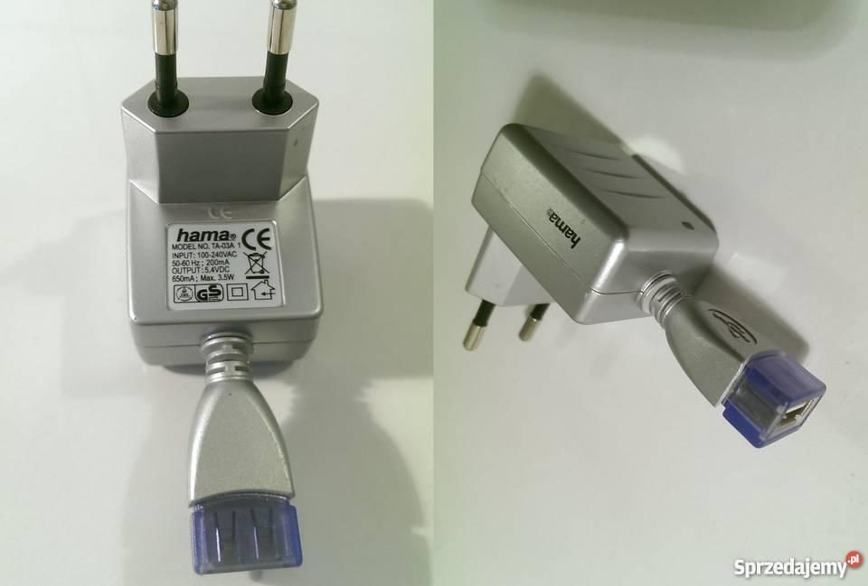Ładowarka zasilacz USB HAMA TA 03A