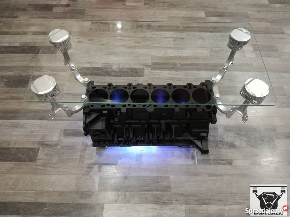 Stolik Z Silnika Bmw R6 Prezent Engine Table