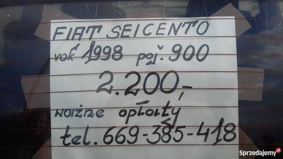 FIat Seicento 900 150000km Pomiechówek sprzedam