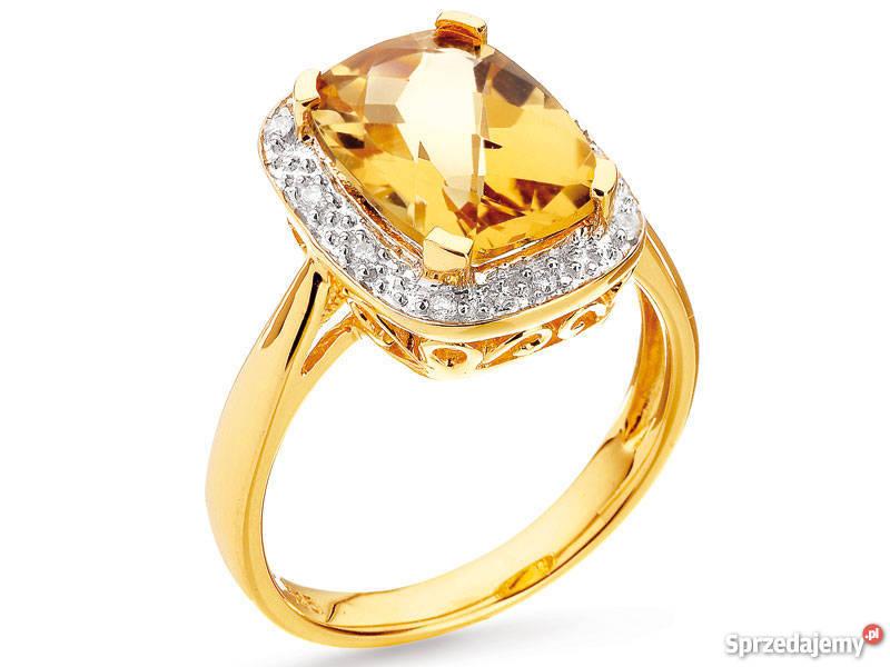 e55bed909d72cc pierścionek z diamentami Śliczny APART jak nowy Kraków - Sprzedajemy.pl