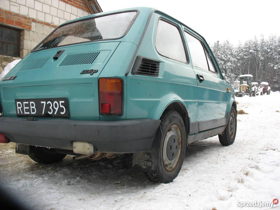 fiat 126p zarejstrowany oryginał Gwizdów