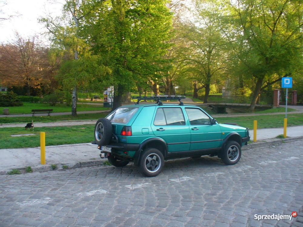 VW GOLF COUNTRY światła przeciwmgłowe Gorzów Wielkopolski