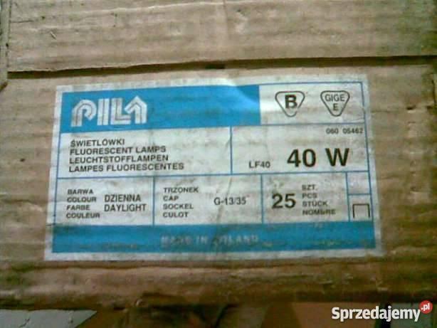 świetlówka 40 W G13 Dł120 Cm Do Warsztatu Garażu