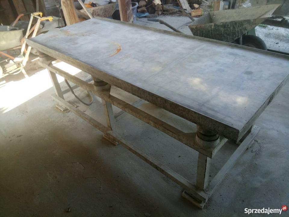Super Formy, palety, stół wibracyjny do ogrodzeń betonowych Leżajsk  @BP-97