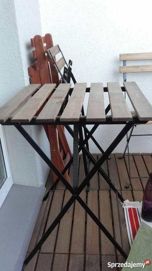 Stolik Balkonowy Składany Ikea