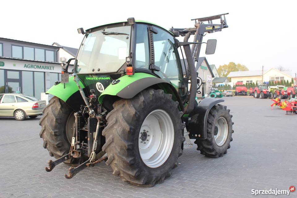 Ciągnik rolniczy Deutz Fahr Agrotron 85 z Maszyny rolnicze Sokoły