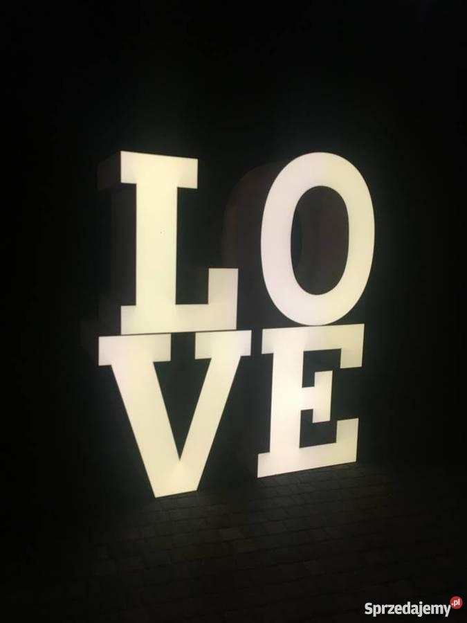 STÓŁ LOVE NAPIS LOVE SŁODKI STÓŁ CUKROWA POKUSA Warszawa