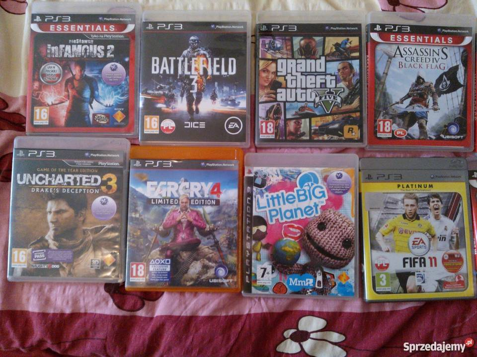 gry na PlayStation3 Koszalin