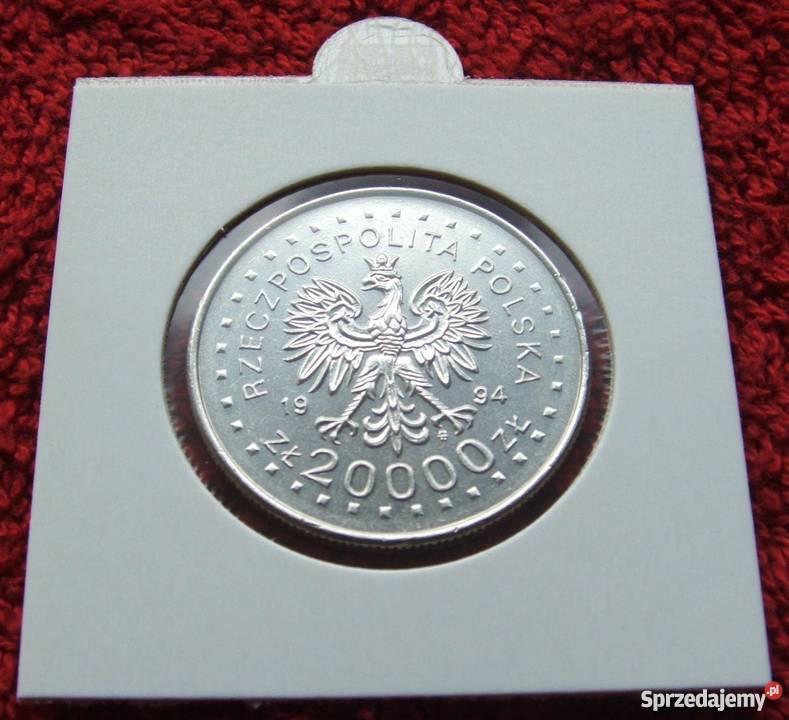MONETA 20000 POWSTANIE KOŚCIUSZKOWSKIE 1994 Katowice