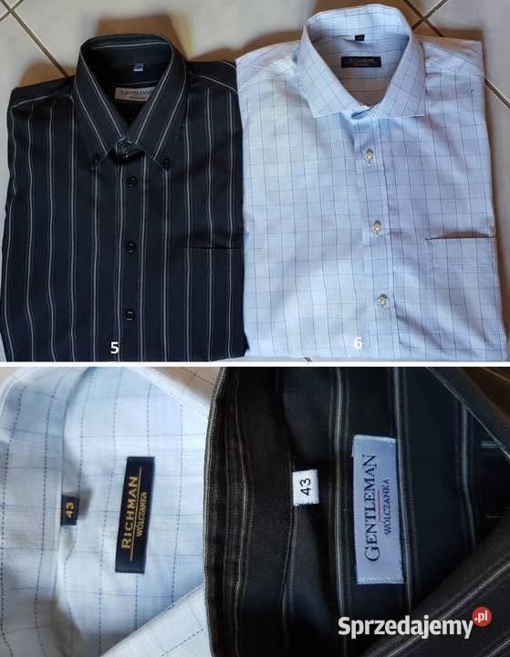 Avangard Richman Gentelman Wólczanka koszula męska unikat