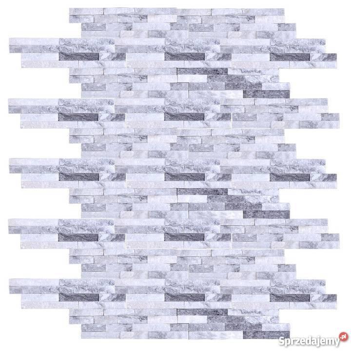 Panele ścienne 10x36 kwarcyt cloud grey Lublin