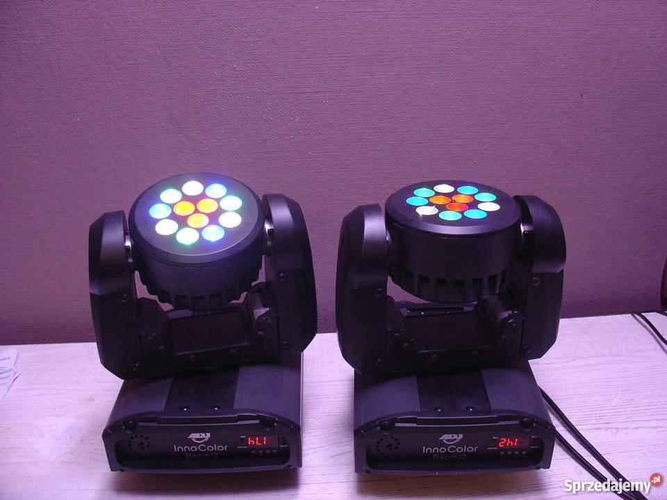 Stroboskop RGB LED światło i efekty Dzierżążno