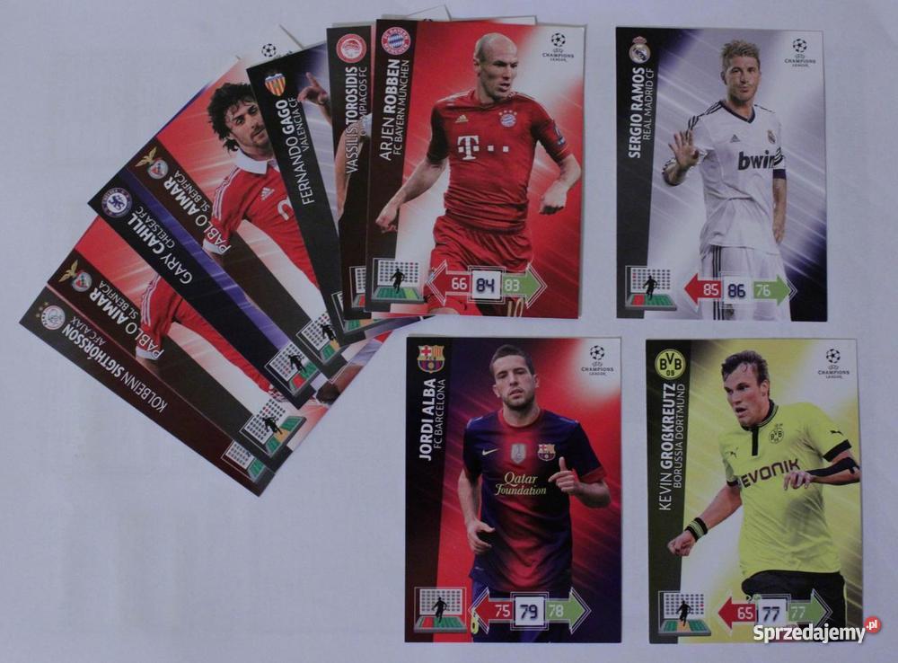 Karty Panini UEFA Champions League 201213 Częstochowa