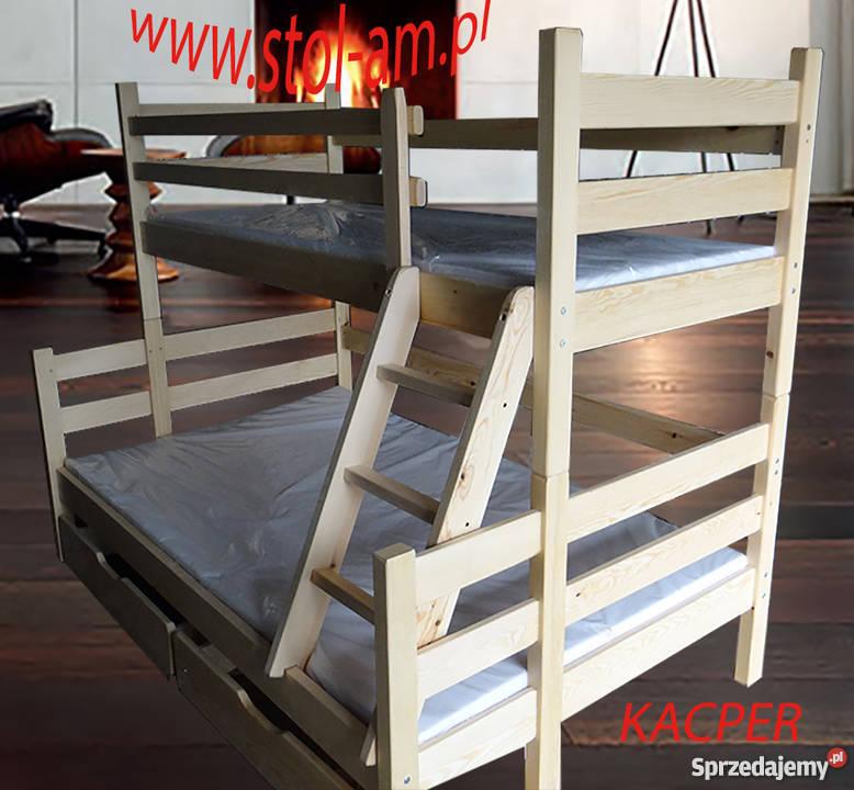 łóżka łóżko Piętrowe 3 Osobowe Ze Zjeżdżalnią
