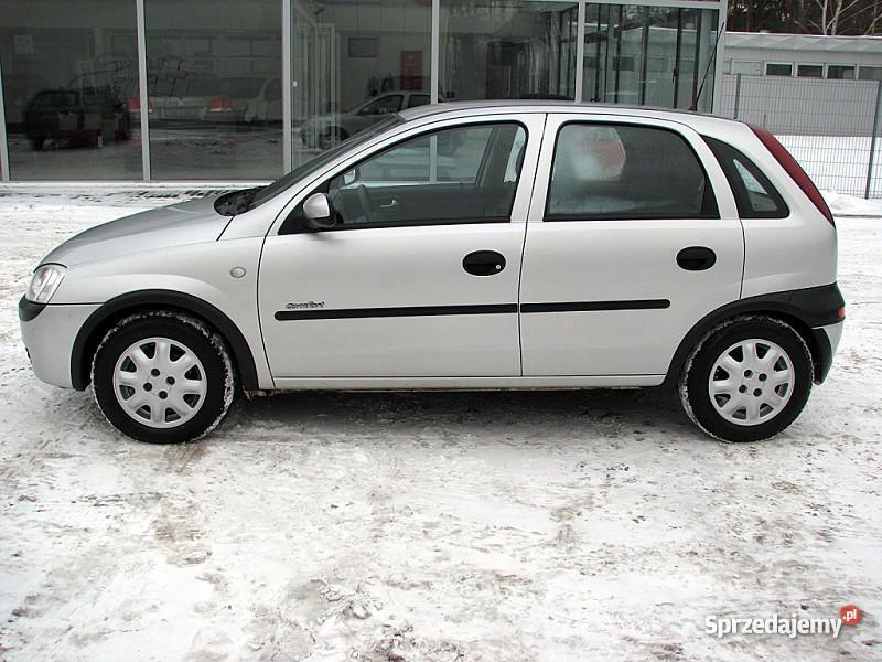 Opel Corsa C światła przeciwmgłowe Włocławek