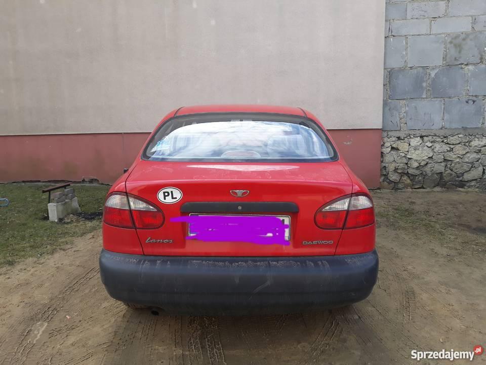 Daewoo Lanos 2000r LPG śląskie