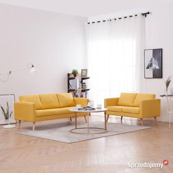 vidaXL Zestaw 2 sof tapicerowanych 276856