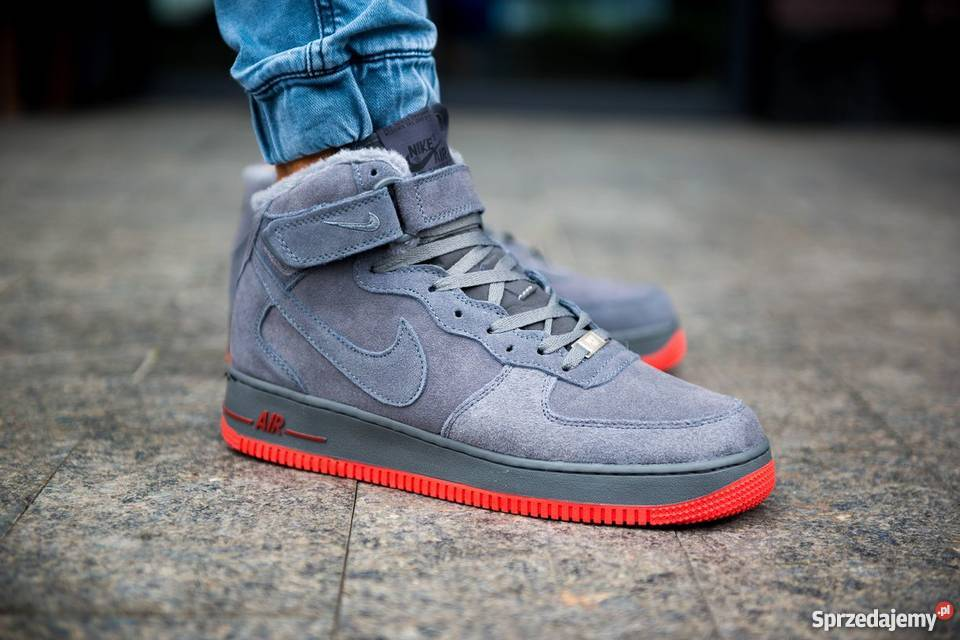new design look out for official Nike Air Force 1 Winter Grey r40-45