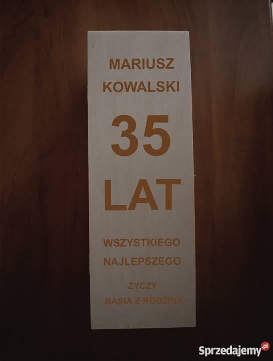 Skrzynka Na Wino Z Grawerem Sw01 Warszawa Sprzedajemypl