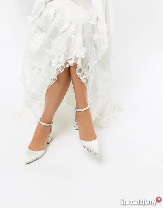 c91a6aae4b71f kremowe buty na obcasie - Sprzedajemy.pl