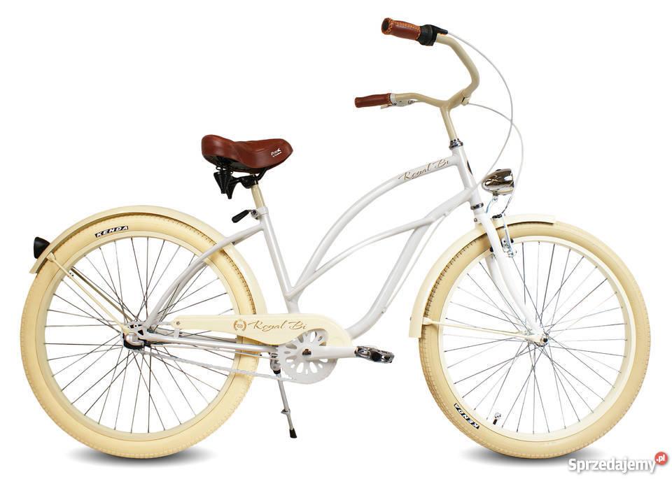 Rowery rower Cruiser RoyalBi NOWE 26 electra Toruń sprzedam