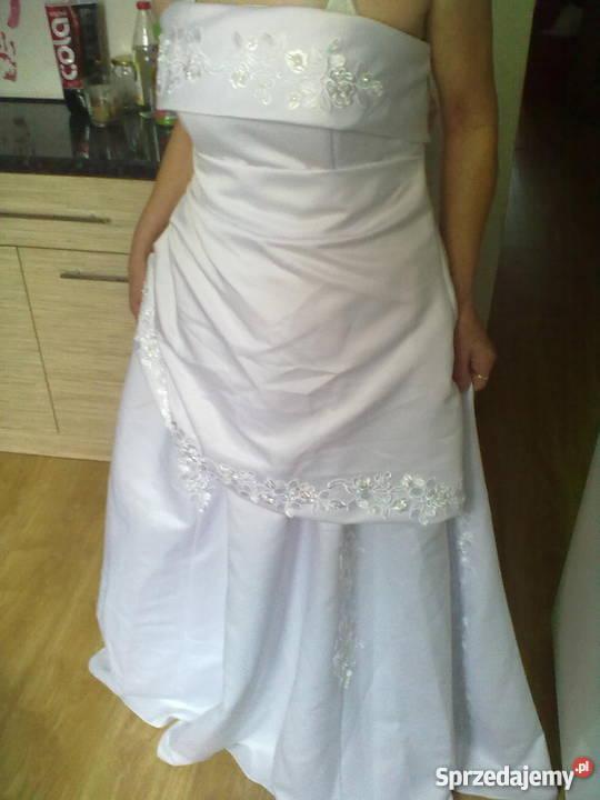 Suknia ślubna Nowa Nie Używana Rozm 40 42 Z Dodatkami Nowy Targ