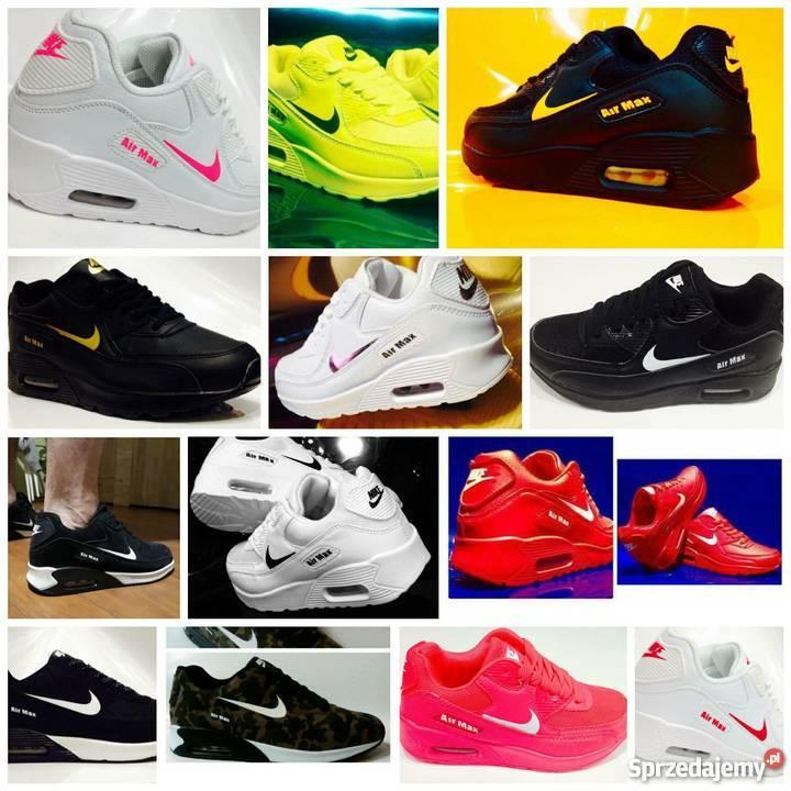 Buty męskie. Sportowe sneakersy Nike, najnowsze modele na