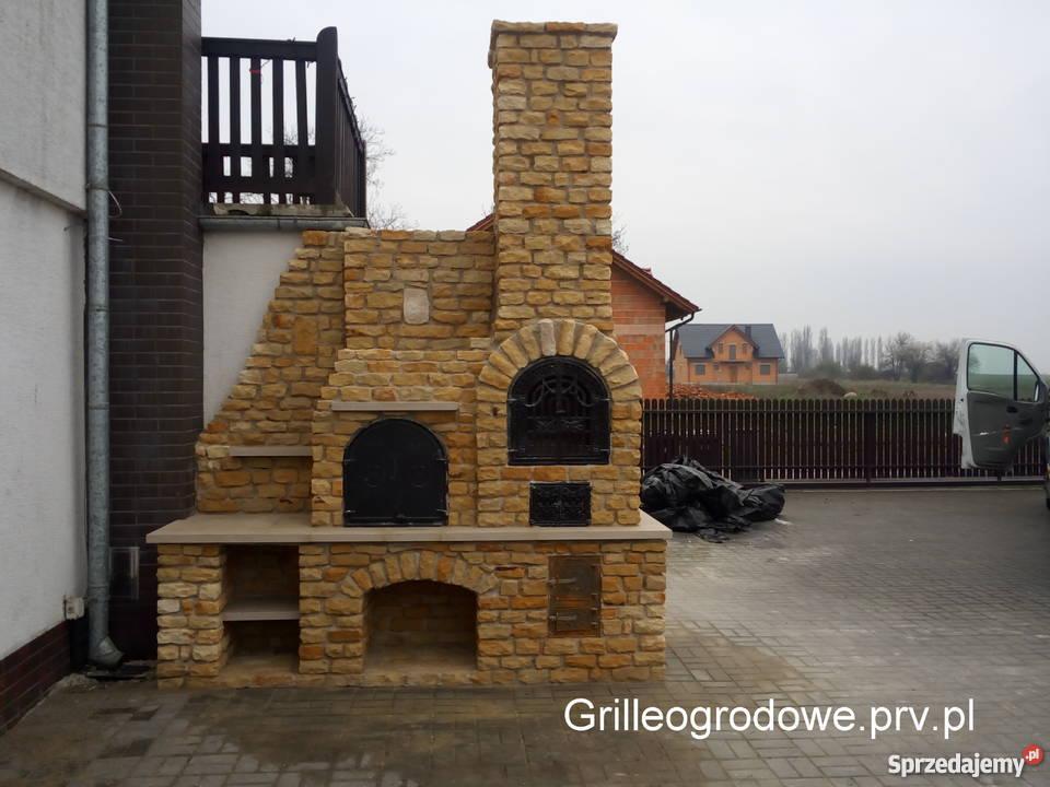 Wspaniały murowane grille ogrodowe z wędzarnią - Sprzedajemy.pl CR31