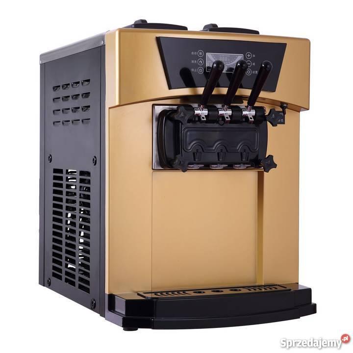 Nowy Automat do lodów włoskich softów CreamL mazowieckie Zielonka
