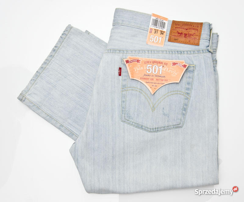 Levi's 501 NOWE oryginalne damskie spodnie W 31 L 34
