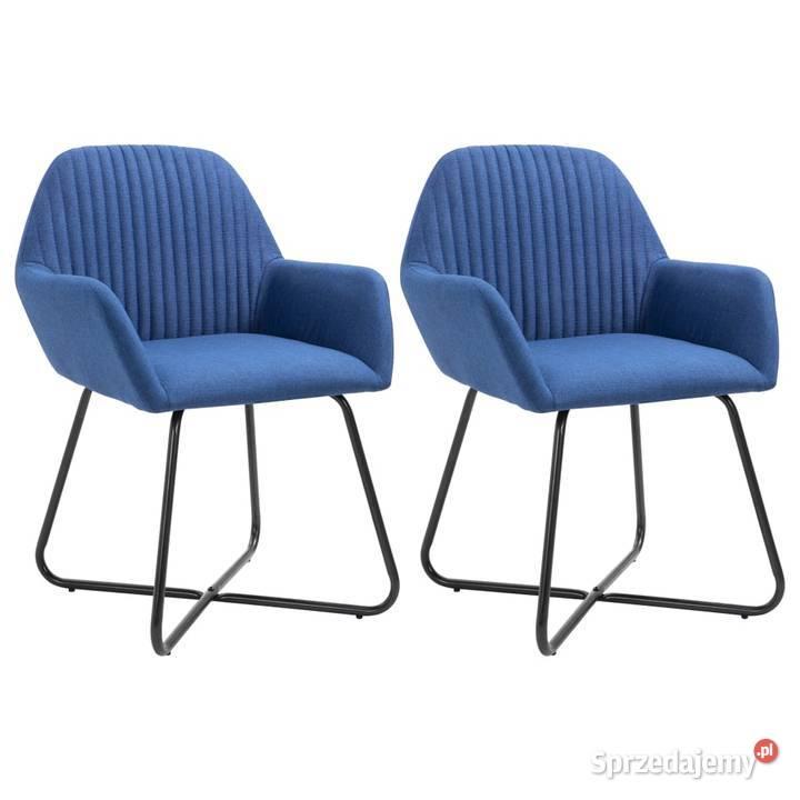 vidaXL Krzesła do jadalni, 2 szt., 249811