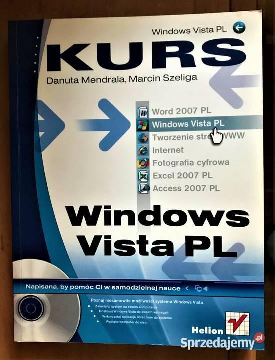 Windows Vista PL. Kurs + CD Mendrala