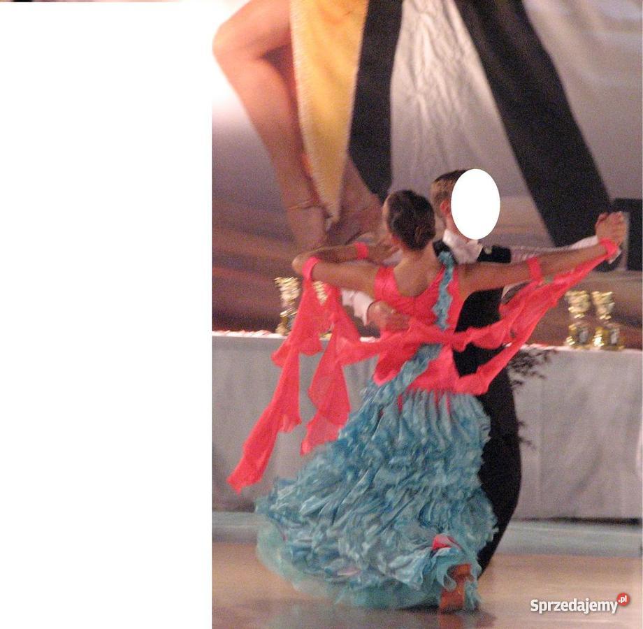 070719f153 taniec towarzyski SUKIENKĘ DO STANDARDU EDC Sporty towarzyskie i rekreacja  Miechów