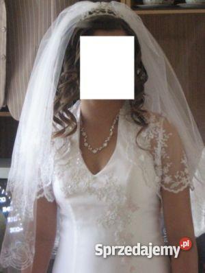 suknia ślubna welon podwiązka Kutno