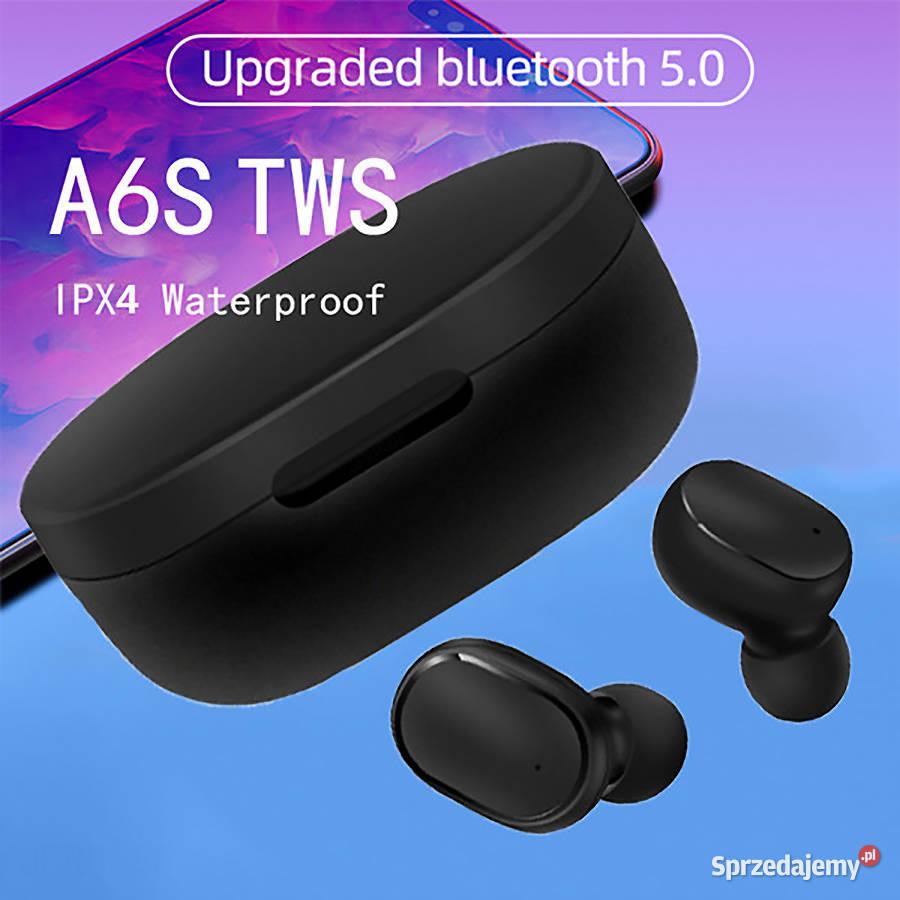 A6S TWS nowe słuchawki bezprzewodowe bluetooth 5.0