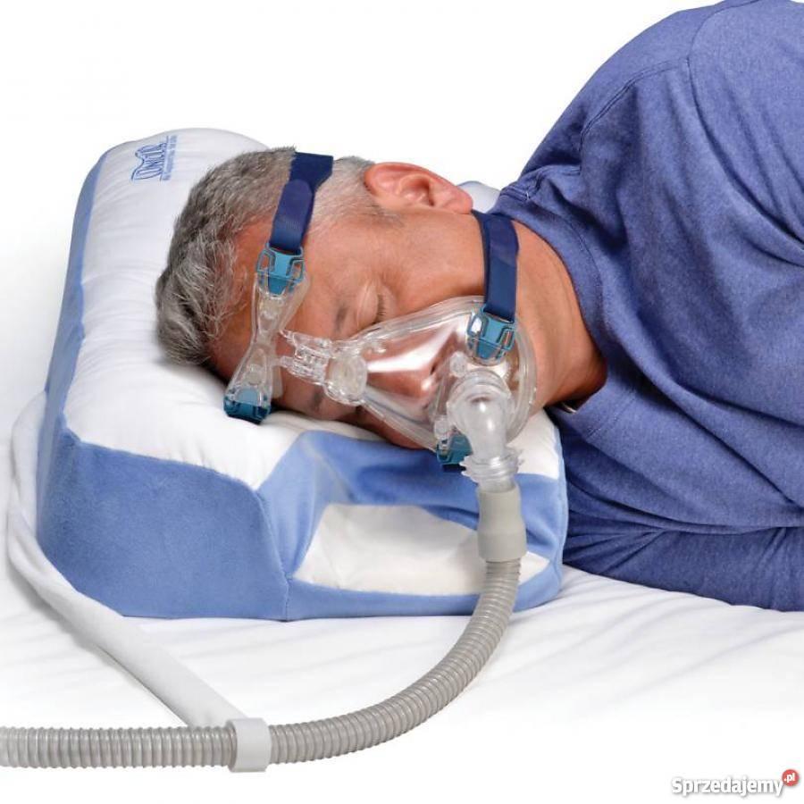 Poduszka dla użytkowników aparatów CPAP